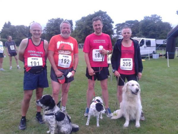 Keith, Chris, Tim, Adrian from Crewkerne and Beans