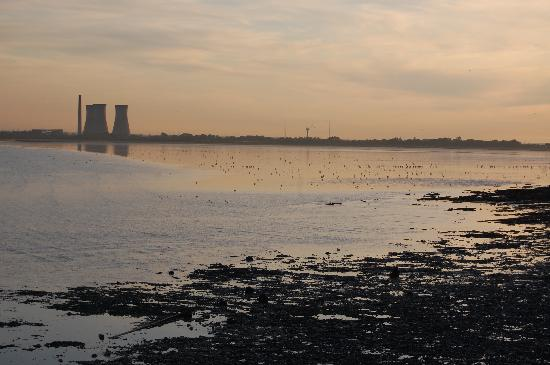 Pegwell Bay and Richborough Power Station